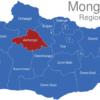 Map Mongolei Regionen Archangai