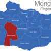 Map Mongolei Regionen Bajanchongor
