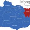 Map Mongolei Regionen Chentii