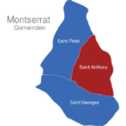 Map Montserrat Gemeinden Saint_Anthony
