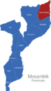 Map Mosambik Provinzen Cabo_Delgado