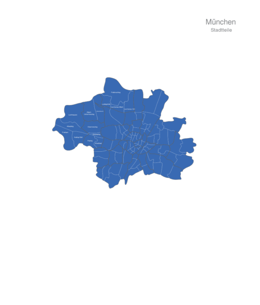 München Stadtteile