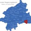 Map Münster Regierungsbezirk Ahlen