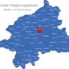 Map Münster Regierungsbezirk Altenberge