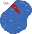 Map Nauru Bezirke Baiti