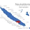 Map Neukaledonien Gemeinden Bouloupari