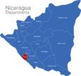 Map Nicaragua Departments Carazo