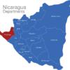 Map Nicaragua Departments Chinandega