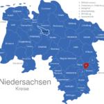 Map Niedersachsen Kreise Braunschweig_1_