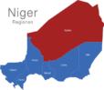 Map Niger Regionen Agadez