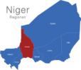 Map Niger Regionen Tahoua