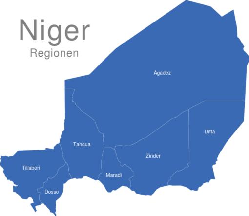 Niger Regionen