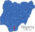 Map Nigeria Bundesstaaten Abia