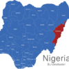 Map Nigeria Bundesstaaten Anambra