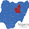 Map Nigeria Bundesstaaten Bauchi