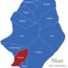 Map Niue Gemeinden Avatele