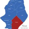 Map Niue Gemeinden Hakupu
