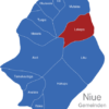 Map Niue Gemeinden Lakepa