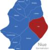 Map Niue Gemeinden Liku