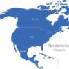 Map Nordamerika Länder Aruba