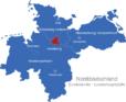 Map Norddeutschland Bundesländer Hauptstädte Hamburg