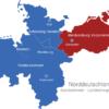 Map Norddeutschland Bundesländer Hauptstädte Mecklenburg_Vorpommern