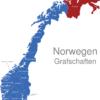 Map Norwegen Grafschaften Finnmark