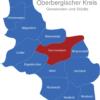 Map Oberbergischer Kreis Gummersbach