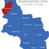 Map Oberbergischer Kreis Hückeswagen