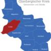 Map Oberbergischer Kreis Lindlar