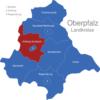 Map Oberpfalz Landkreise Amberg_Sulzbach