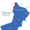 Map Oman Provinzen Al_Buraimi