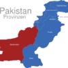 Map Pakistan Provinzen Belutschistan
