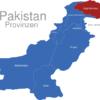 Map Pakistan Provinzen Gilgit-Baltistan