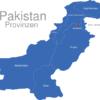 Map Pakistan Provinzen Islamabad