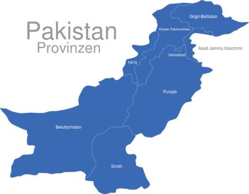 Pakistan Provinzen