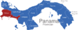 Map Panama Provinzen Chiriqui_1_