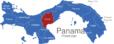 Map Panama Provinzen Cocle_1_
