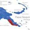 Map Papua Neuguinea Provinzen Central