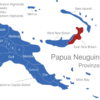 Map Papua Neuguinea Provinzen East_New_Britain