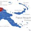 Map Papua Neuguinea Provinzen East_Sepik