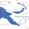 Map Papua Neuguinea Provinzen Enga