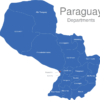 Map Paraguay Departments Asuncion_1_