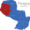 Map Paraguay Departments Boqueron_1_