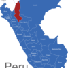 Map Peru Regionen Amazonas