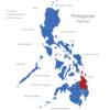 Map Philippinen Regionen Caraga