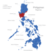 Map Philippinen Regionen Central_Luzon