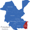 Map Potsdam Stadtbezirke Am_Stern