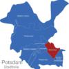 Map Potsdam Stadtbezirke Babelsberg