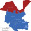 Map Potsdam Stadtbezirke Nordliche_Ortsteile
